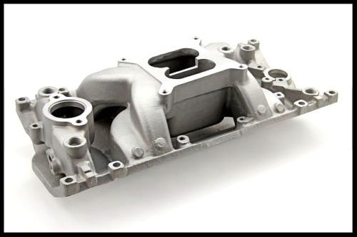 Sbc Chevy Vortec Eliminator Alum Intake Manifold Dual Plane Pc 2028 147 1021 Chevy Aluminum Performance Racing