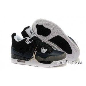 release date: 70666 ee996 Children Nike Air Jordan 4 Cushion Black White Black Best, Price   87.70 - Jordan  Shoes, Nike Shoes, Air Max Shoes, women jordan shoes, kids jordan shoes ...
