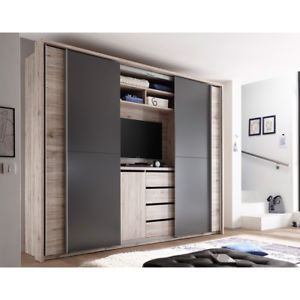 Bedroom Closet With Tv Bedroom Closet Closet Bedroom Bedroom Closet Design Fitted Bedroom Furniture