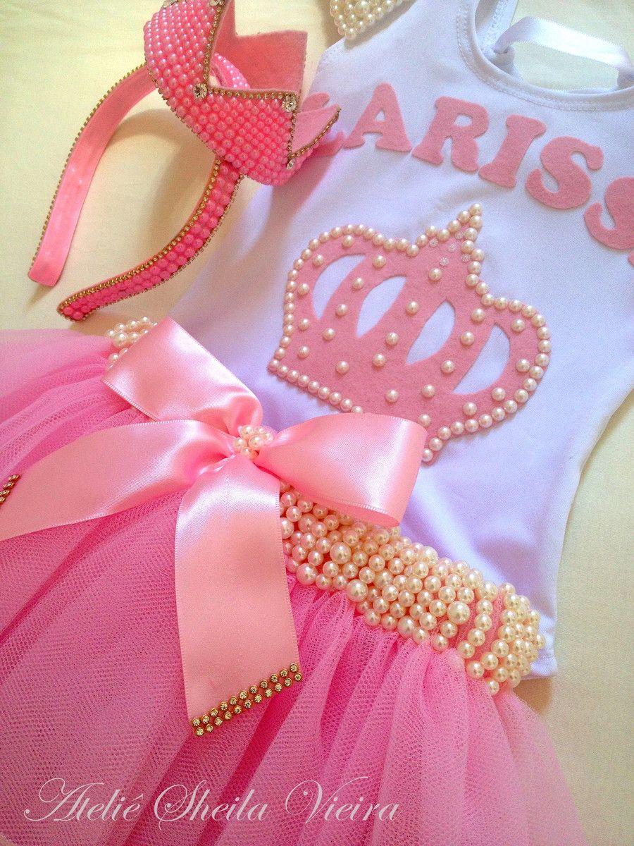 51f5a5939a kit personalizado tema princesa decorado com pérolas e rendas ...