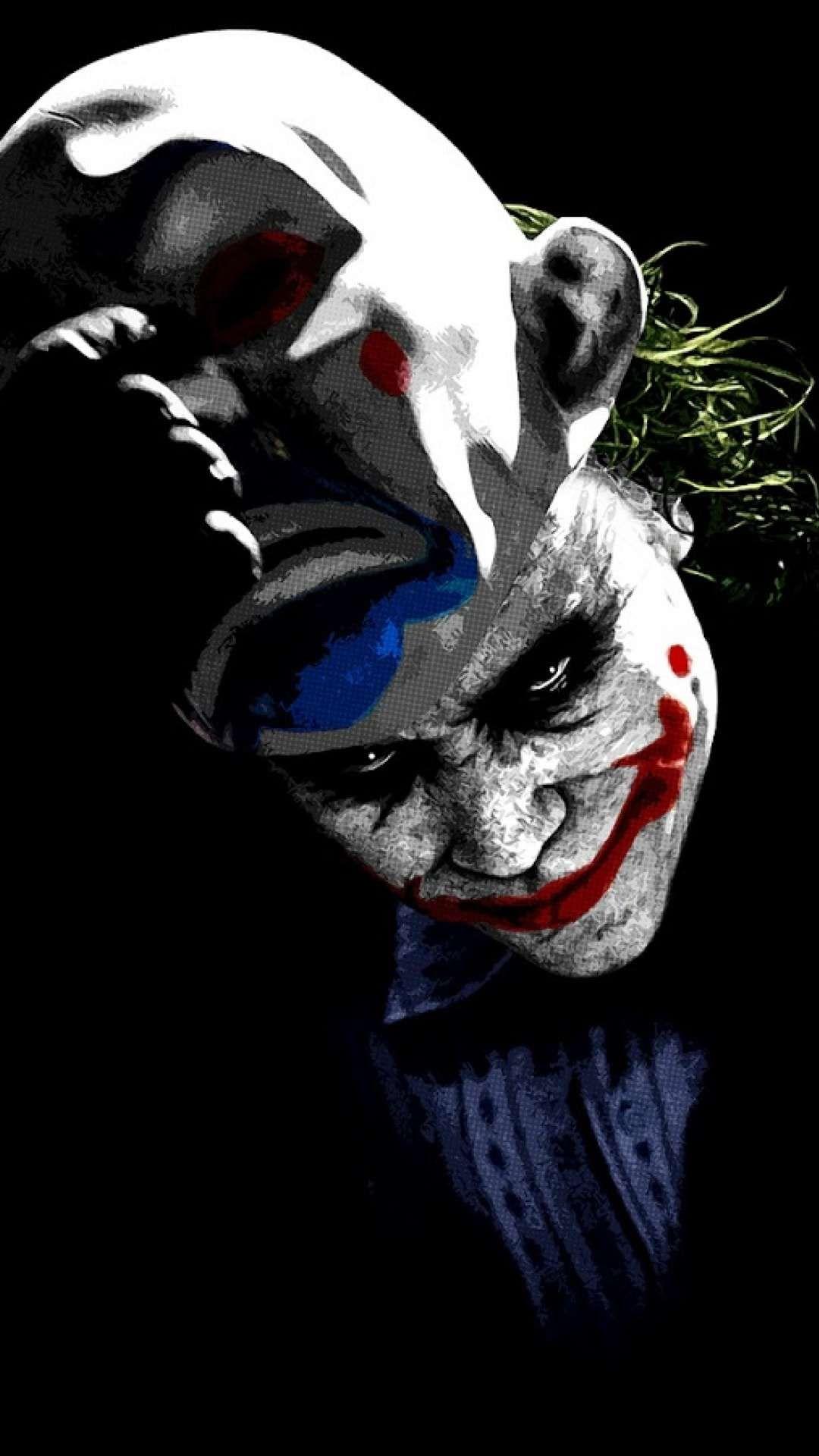 The Joker And Mask Wallpaper Joker Iphone Wallpaper Batman Joker Wallpaper Joker Artwork