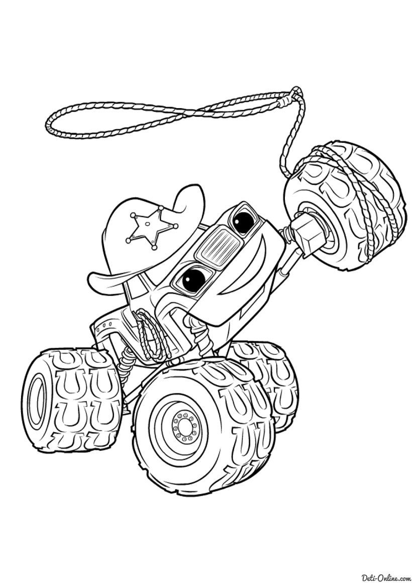 monster truck coloring pages Free http//www.wallpaperartdesignhd ...