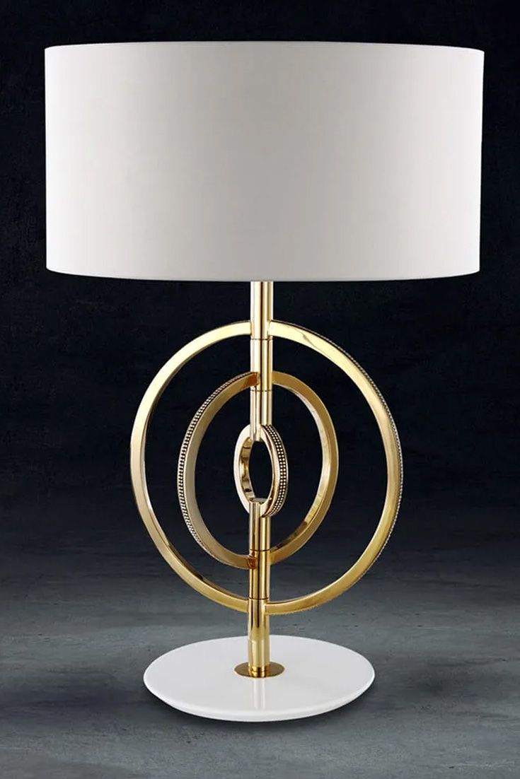 Luxury 24 Carat Gold Plated Swarovski Crystal Table Lamp In 2020