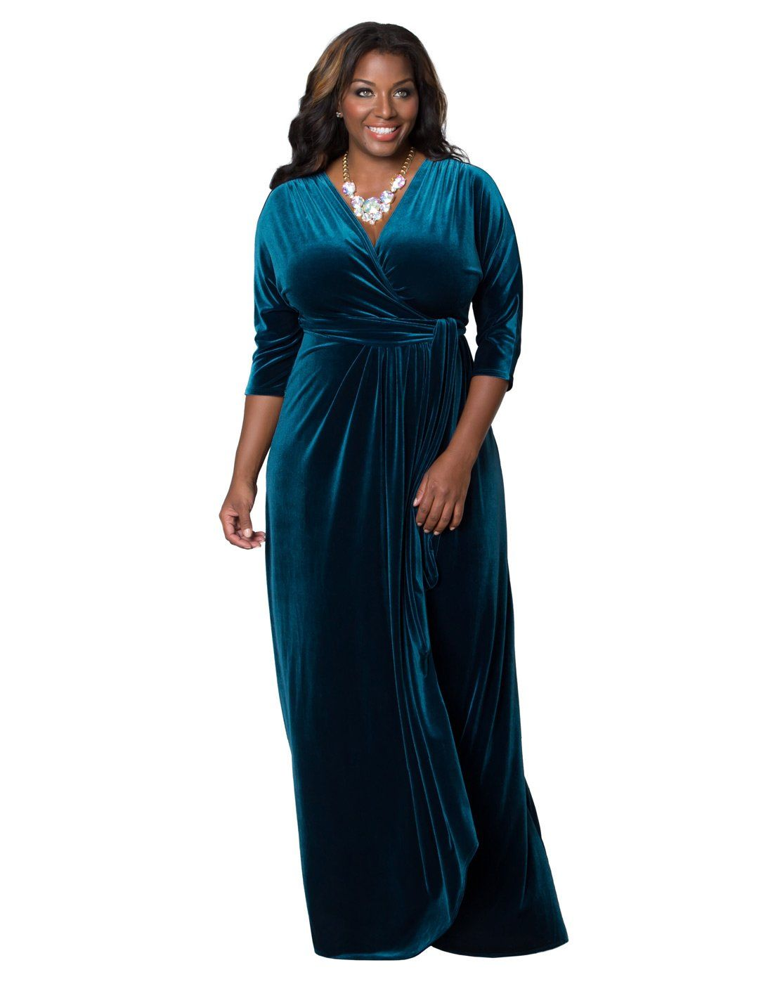 Velvet luxe wrap dress x empress teal dresses for me for the
