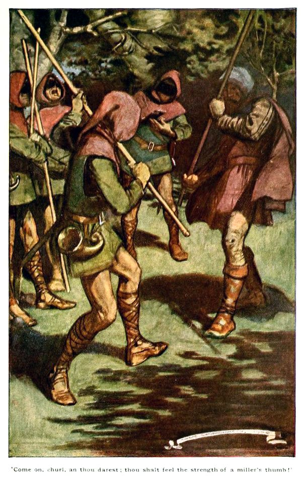 'Ivanhoe - a romance' by Sir Walter Scott, illustrated by Maurice Greiffenhagen. Published 1920 by McKay, Philadelphia.