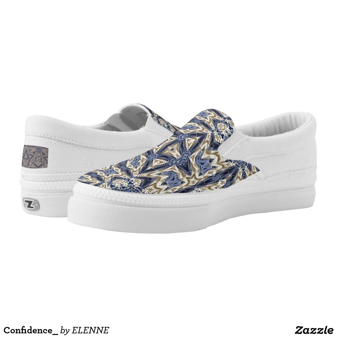Confidence_ Printed Shoes