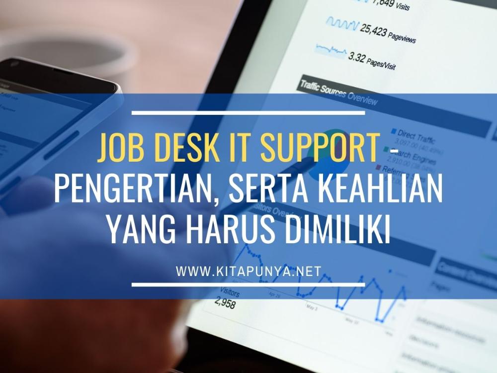 Jobdesk It Support Jaringan Komputer Teknologi Komputer Teknologi