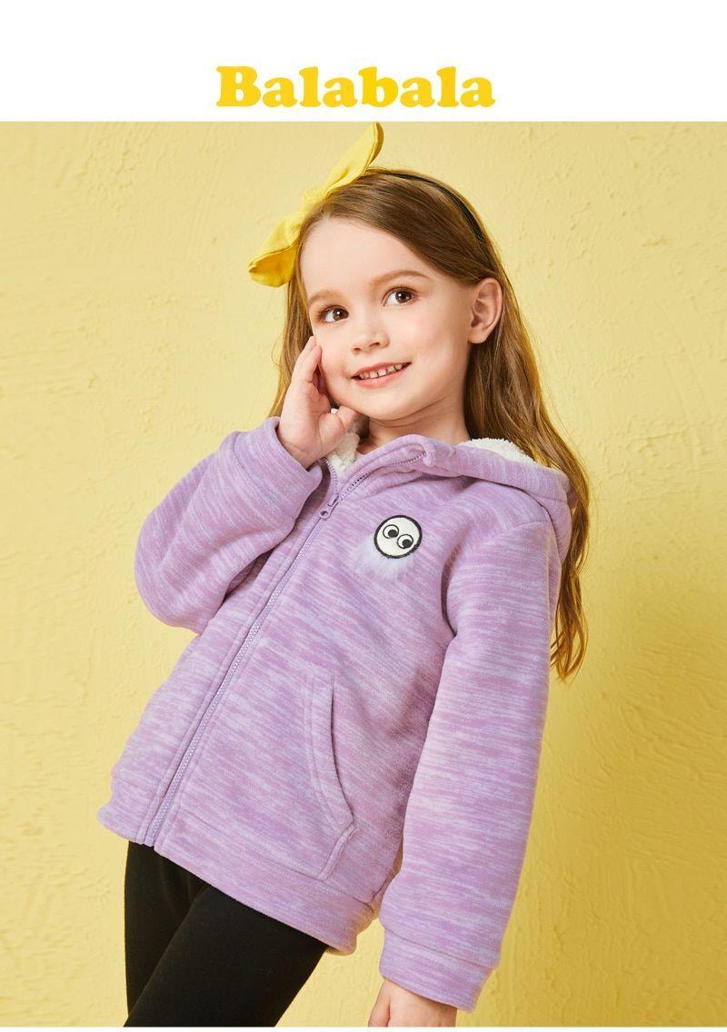 eb512f03fdea Check Price Balabala women brushed jackets Kids Garments style ...