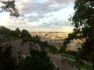 #Bairro #Montmartre Vista a #Paris