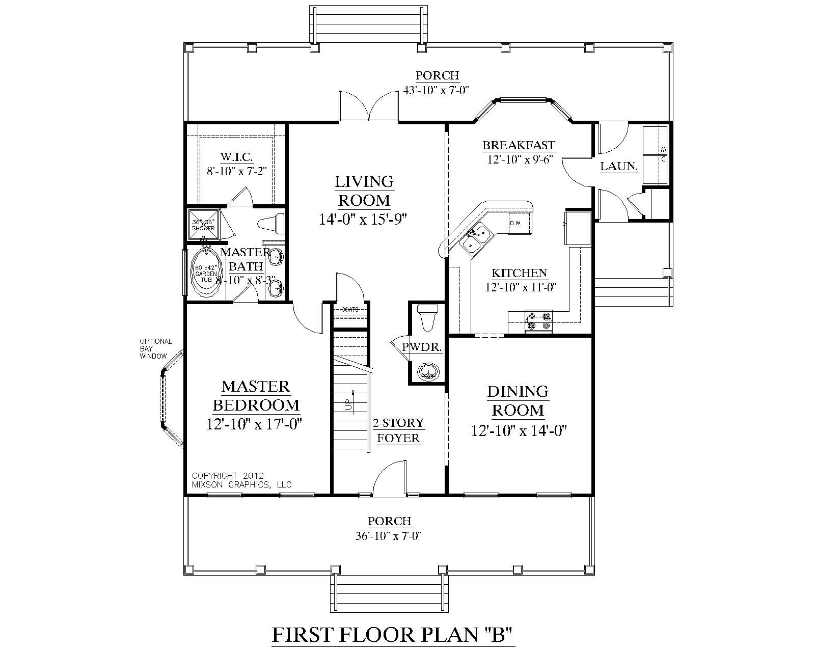 Pin On 1 1 2 Story House Plans