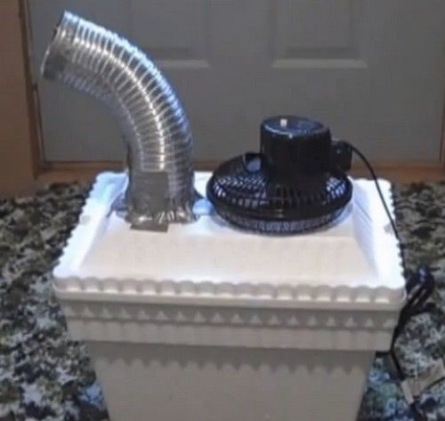 DIY Air Conditioning Unit A medium sized styrofoam cooler One small electric fan Some PVC pipe Tape (duct tape is likely the best choice) A drill or a sharp ... & 10 DIY Life Hacks for Camping - How to Camp Like A Boss - Like A ...