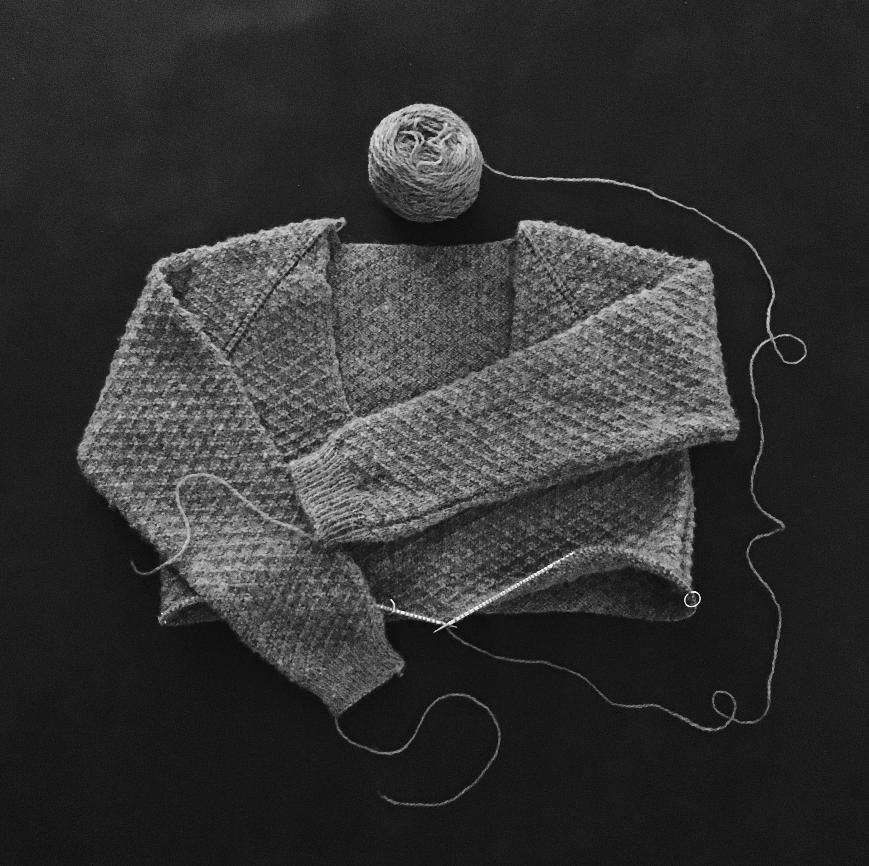 Top Down Raglan Sweater Project shared on the LoveKnitting Community.