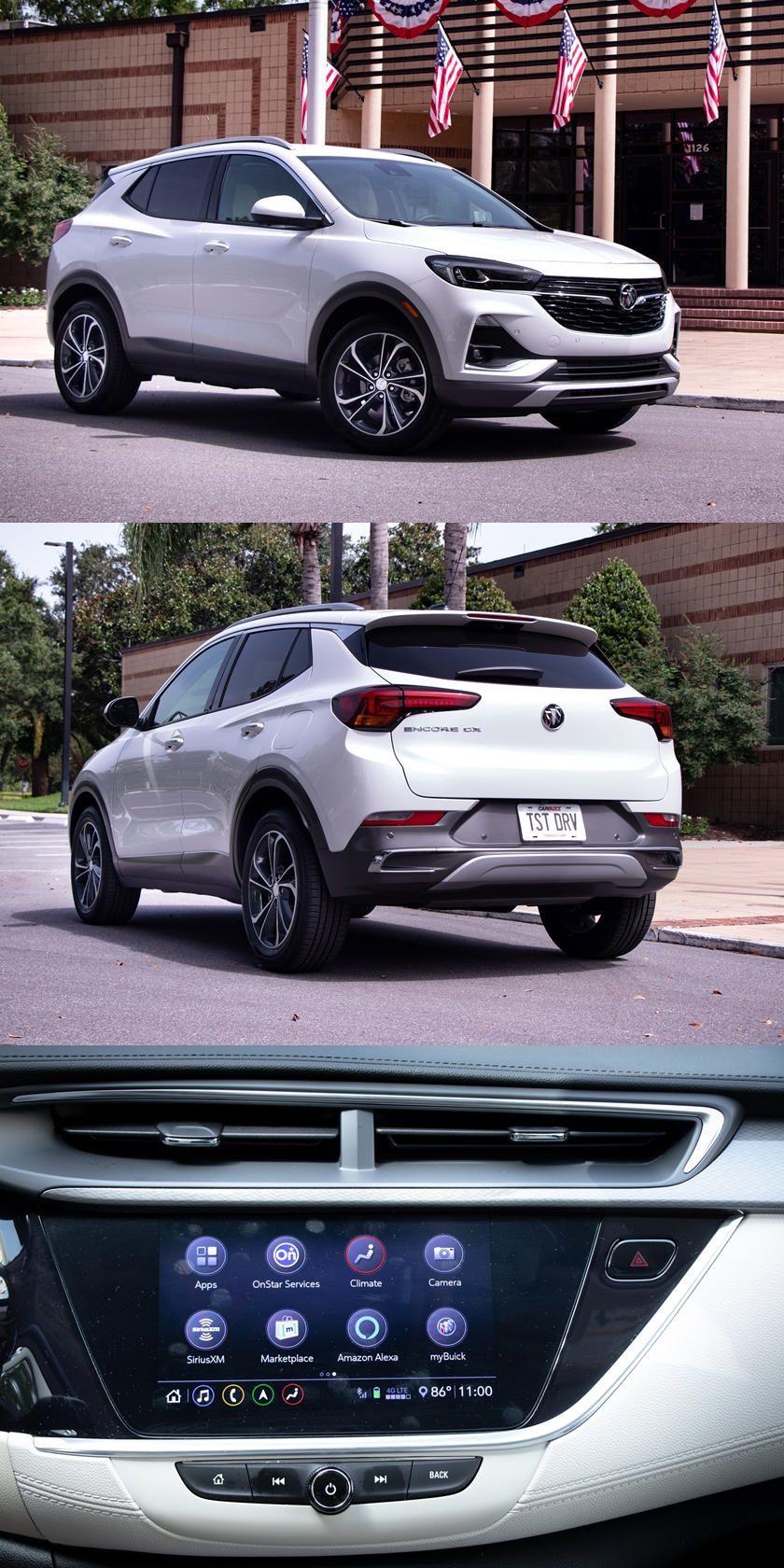 2020 Suv Luxury Buick Buick Encore Gx Interior