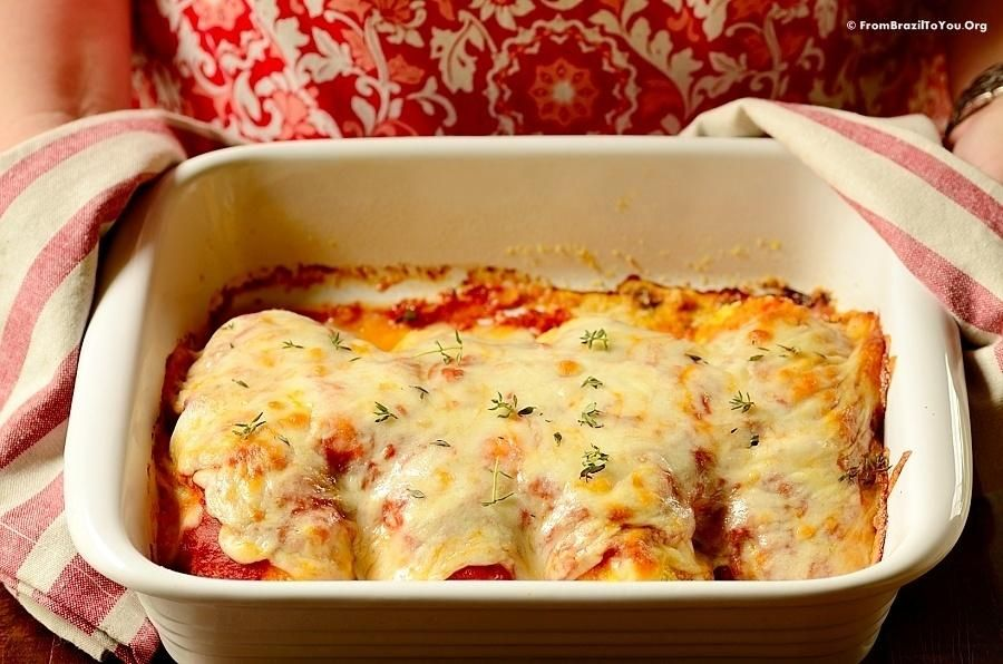 Baked chicken parmesan with images baked chicken parm