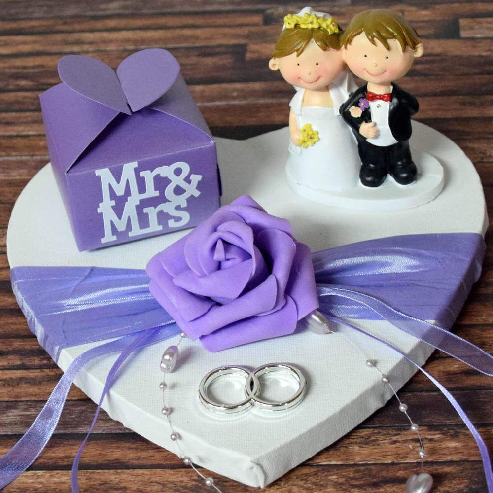 ღ GELDGESCHENK zur HOCHZEIT ღ HOCHZEITSGESCHENK Herz GESCHENK MR MRS LILA FLIEDE | Sammeln & Seltenes, Saisonales & Feste, Hochzeit | eBay! #purpleweddingflowers