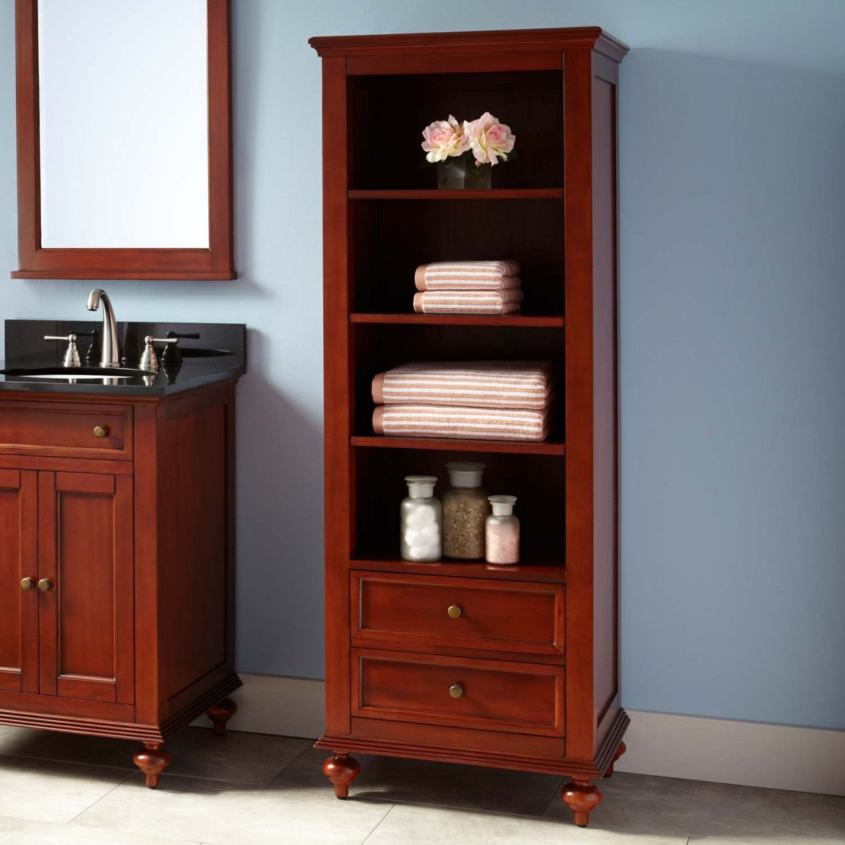 2018 Cherry Bathroom Storage Cabinet Interior Paint Color Schemes Check More At Http
