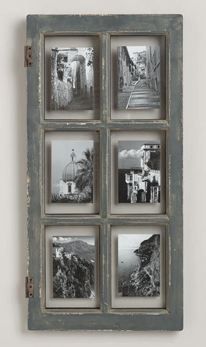 Rustic Gray Windowpane Frame http://rstyle.me/n/ts2tibh9c7 | Crafts ...