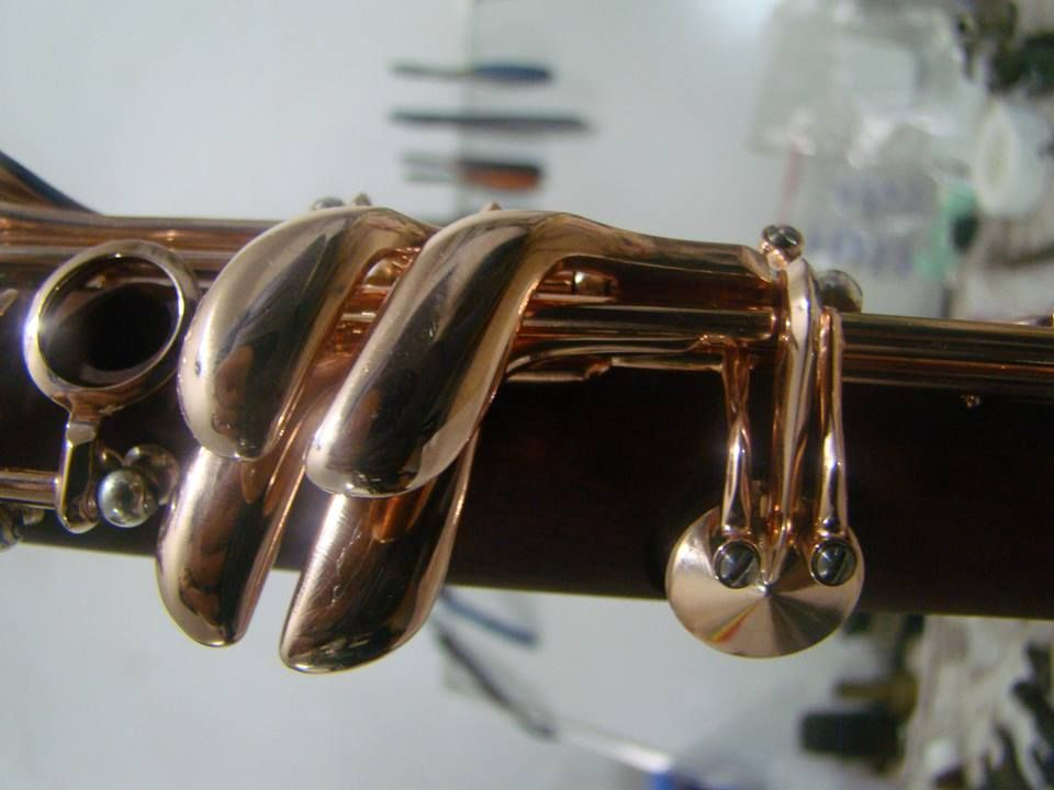 clarinete Devon & Burgani - detalhes