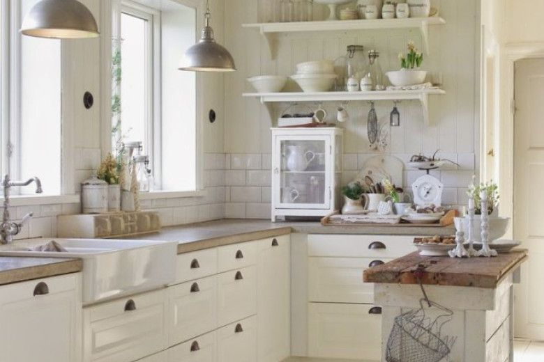 Cucina Shabby Chic Ecco 15 Idee Per Arredarla Con Gusto Cucina - Cocina-shabby-chic