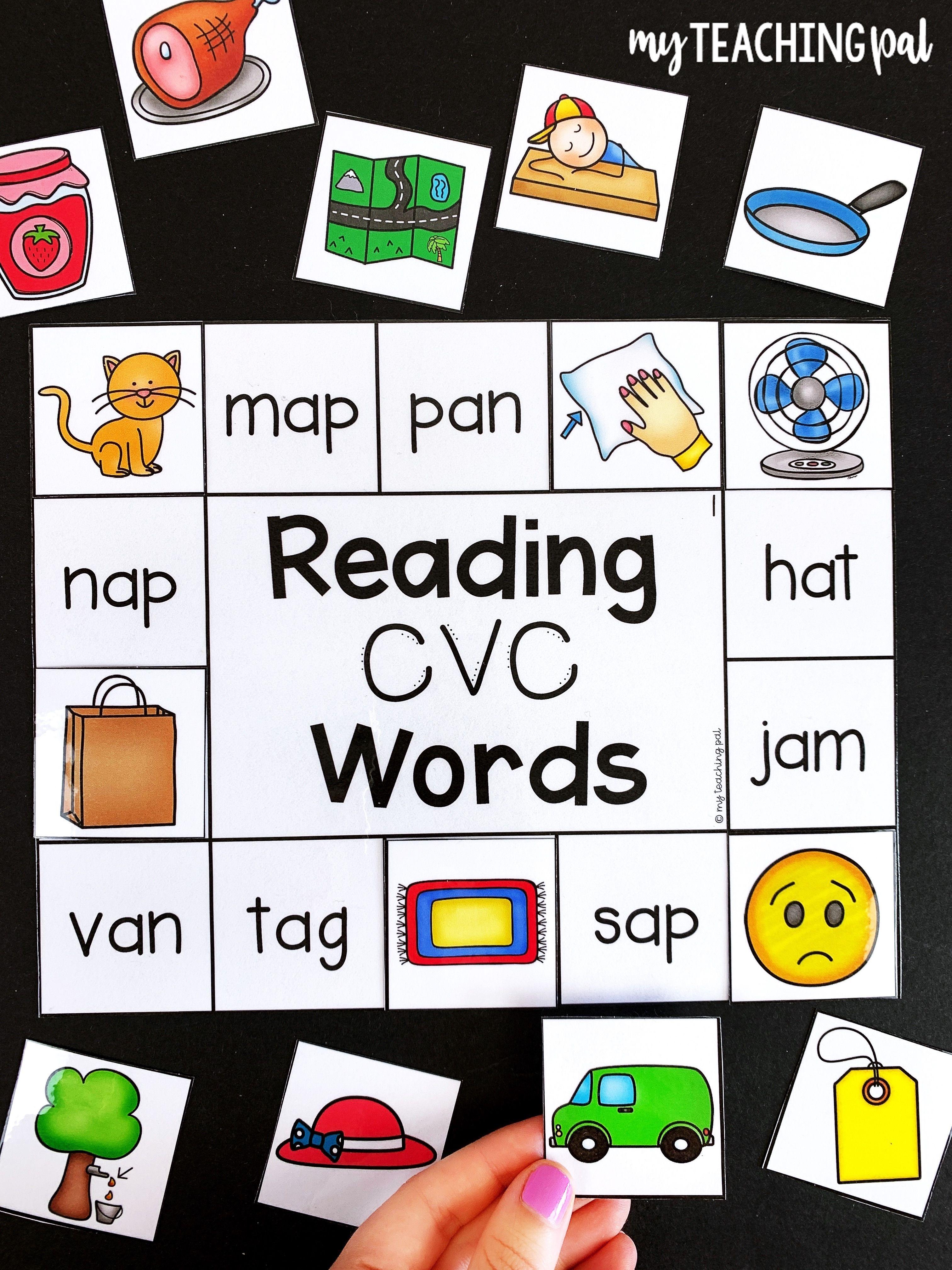 Reading Cvc Words Cvc Words Reading Cvc Words Cvc Word Activities [ 4032 x 3024 Pixel ]