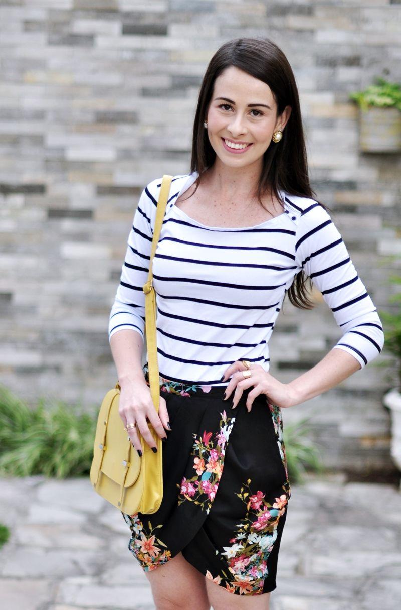 Blusa: Marisa – Saia: Zara – Bolsa: Ebay