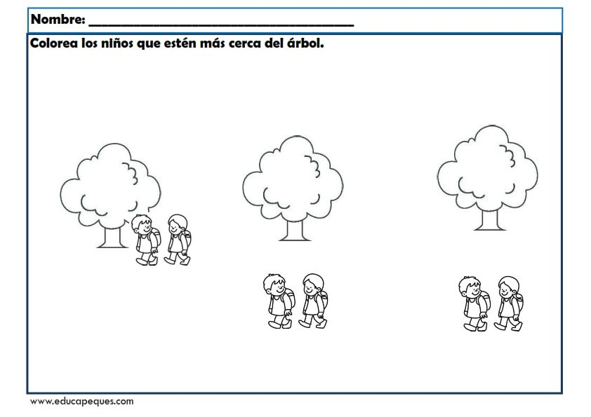 Fichas Infantil Para Trabajar Conceptos Basicos Con Imagenes