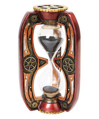 Steampunk Hourglass Figurine