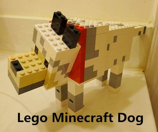 Lego Minecraft Dog Minecraft dogs, Lego minecraft and Lego