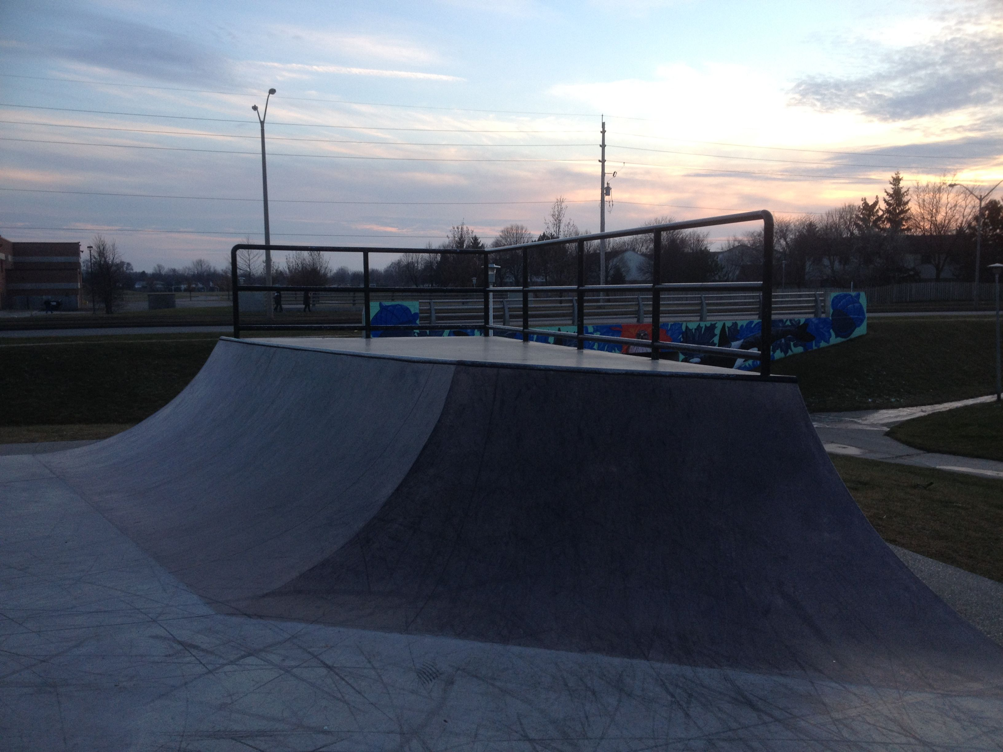 White Oaks Skatepark - A Visual Tour! #LdnOnt