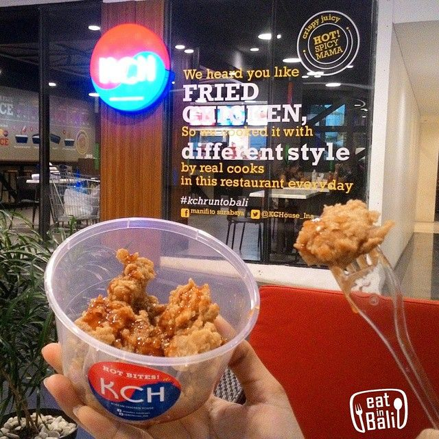 Eat In Bali Eatinbali On Instagram The Korean Chicken House Are Now Opened An Outlet At Lippo Mall Kuta Wanna Try Fried Chicken With Korean Style Drive