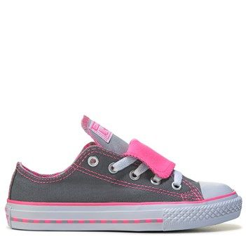 Converse All Star Multiple Tongue Trainers Pink