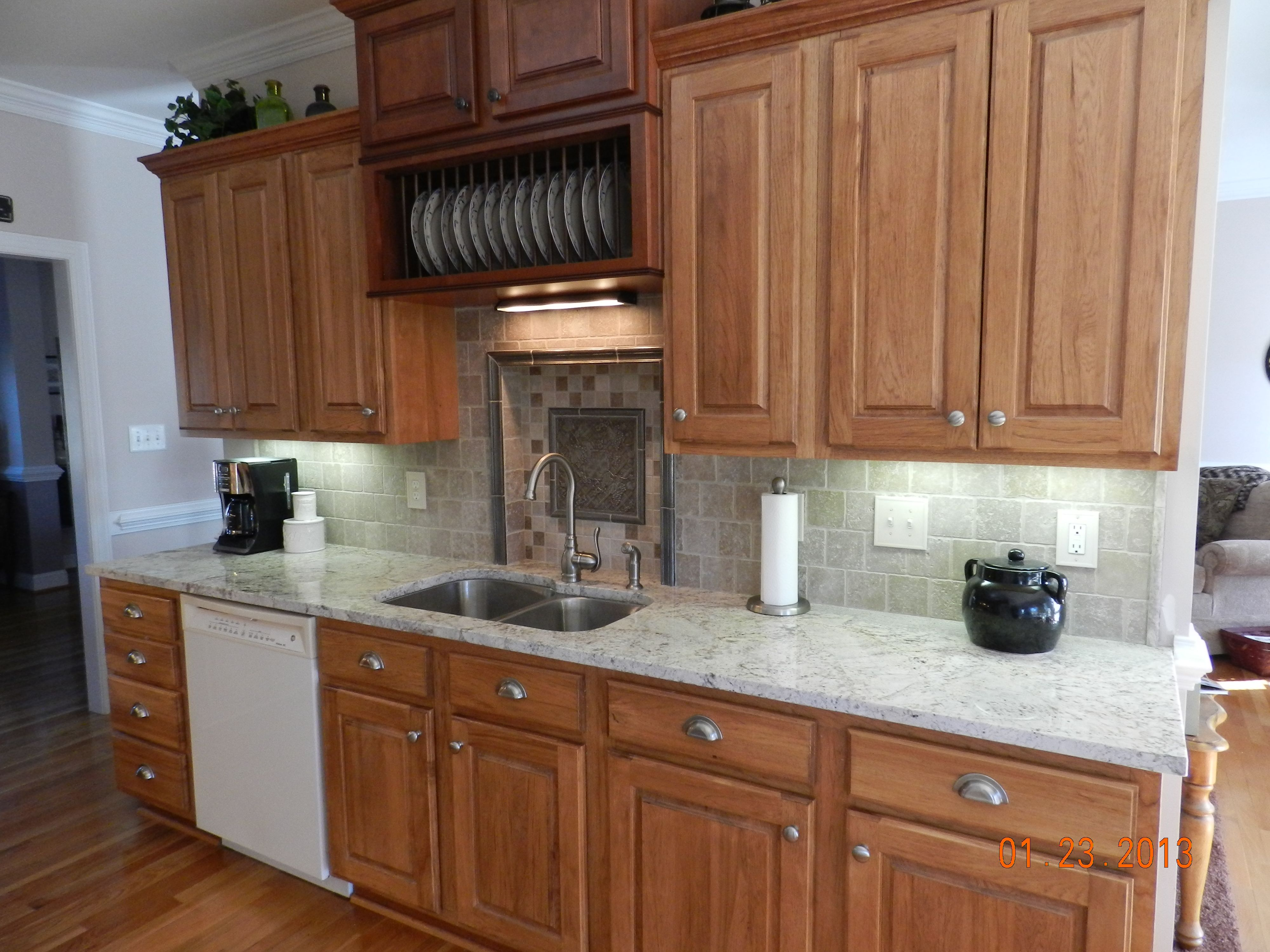 kitchen cabinets & Backsplash by Carpet One | Kitchen ...