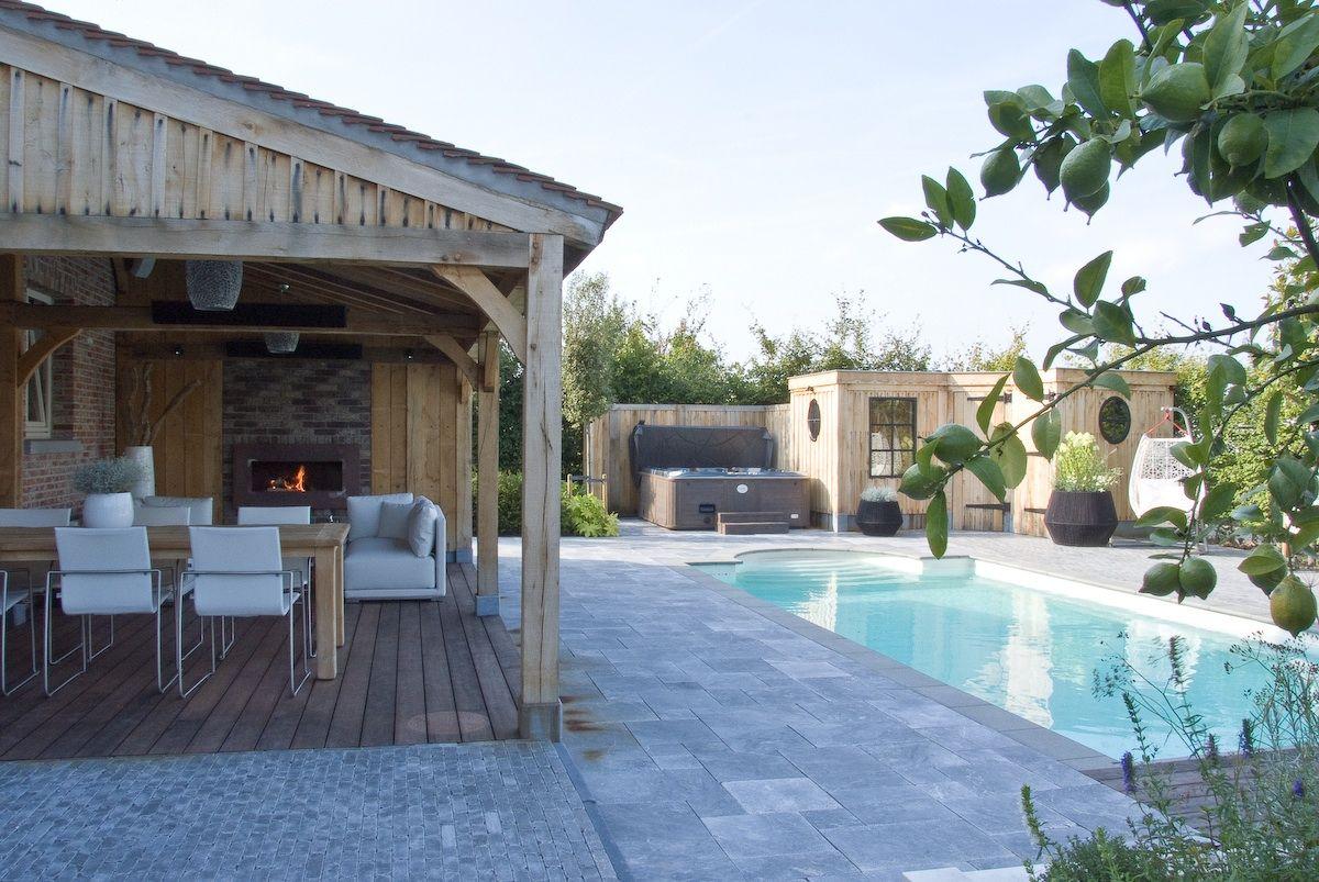 Luxe wellness met spa en sauna
