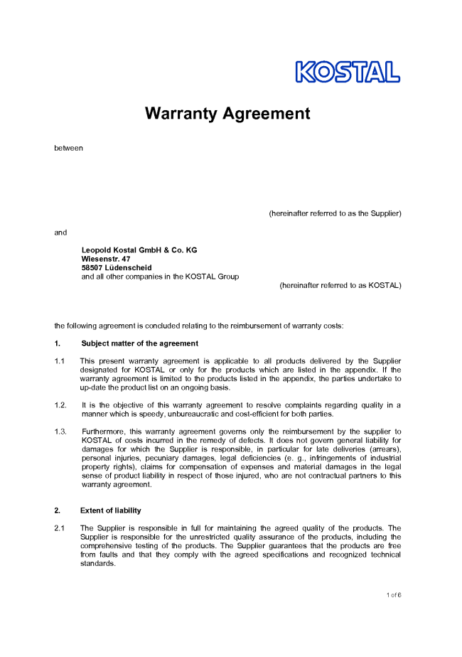 Interesting Agreement Format Sample Between Two Parties With