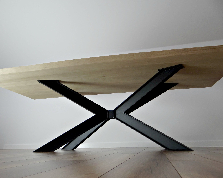Metal Dining Table Legs Industrial Spider Steel Dining Table Legs