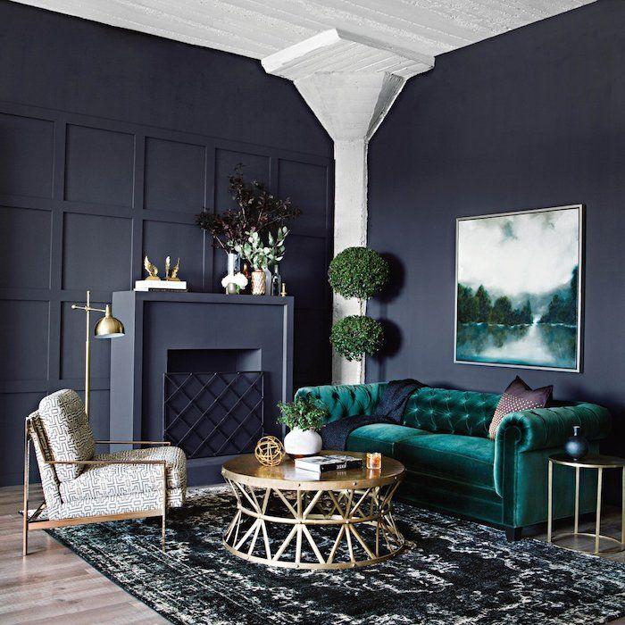 Farbideen Für Wohnzimmer: 1001 + Ideen Für Wohnzimmer Wandfarbe 2018