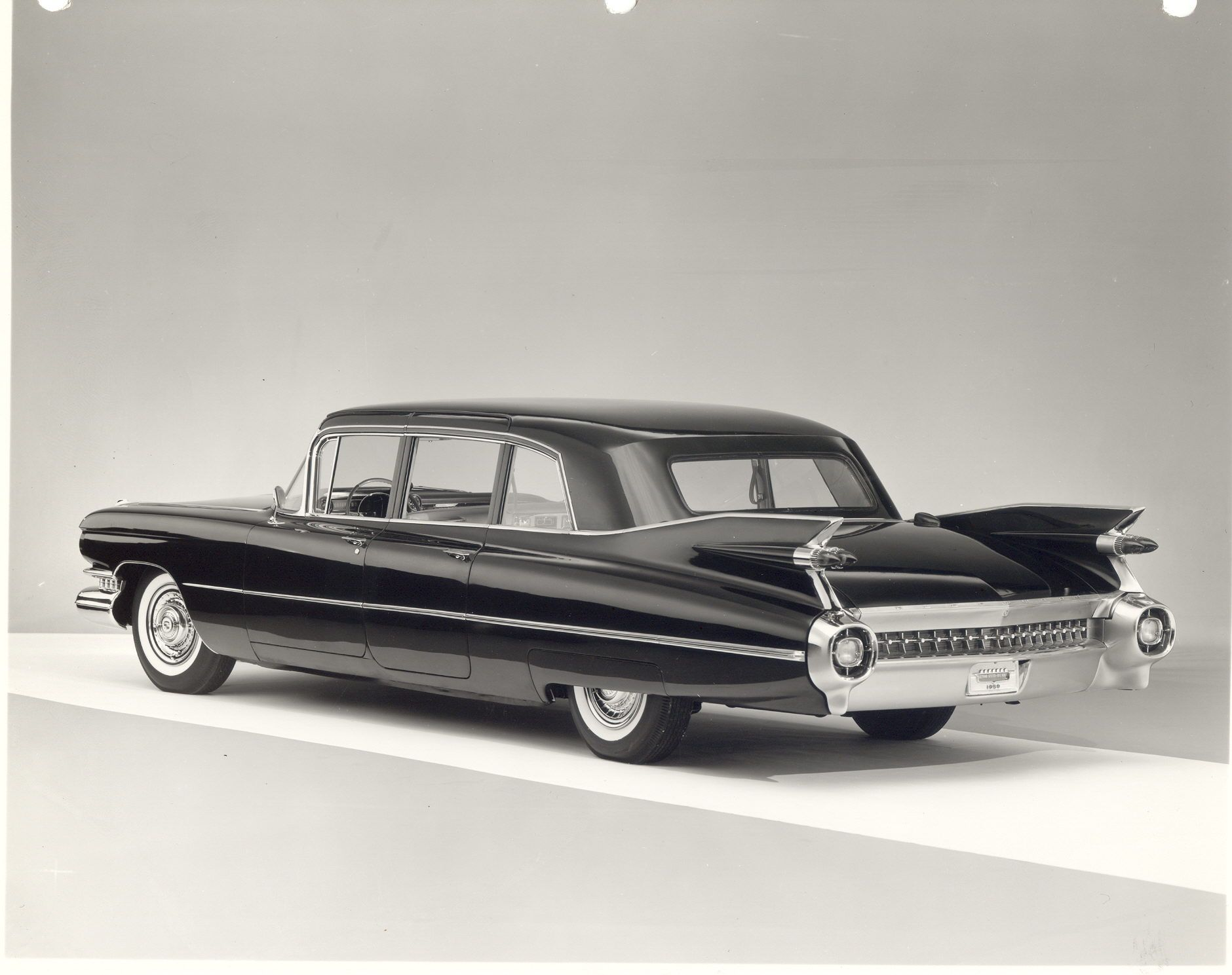 press photo of the 1959 Cadillac Limousine 75