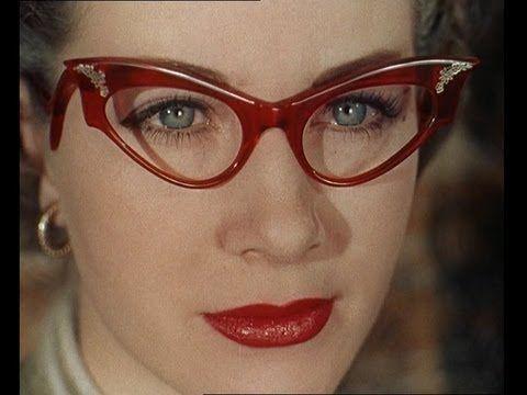 9d2e28cff83e1 A video of 50s eyeglass frames.