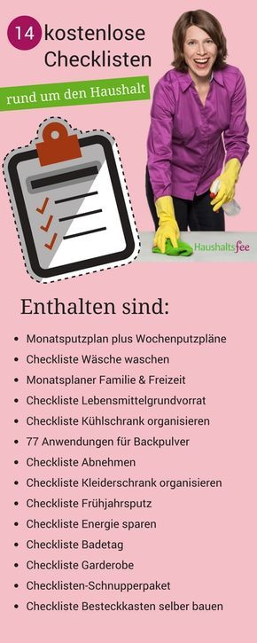 Frühjahrsputz Checkliste frühjahrsputz checkliste organizations filofax and bullet journals