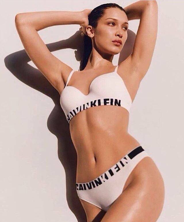 ff8c8af6a1d Bella hadid X Calvin Klein X