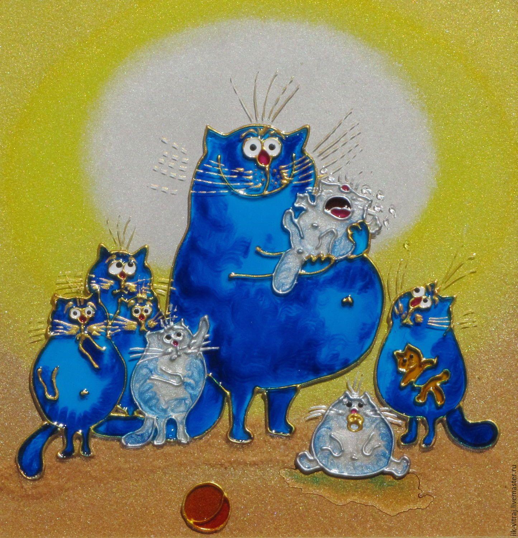 Гифка синие коты рины зенюк