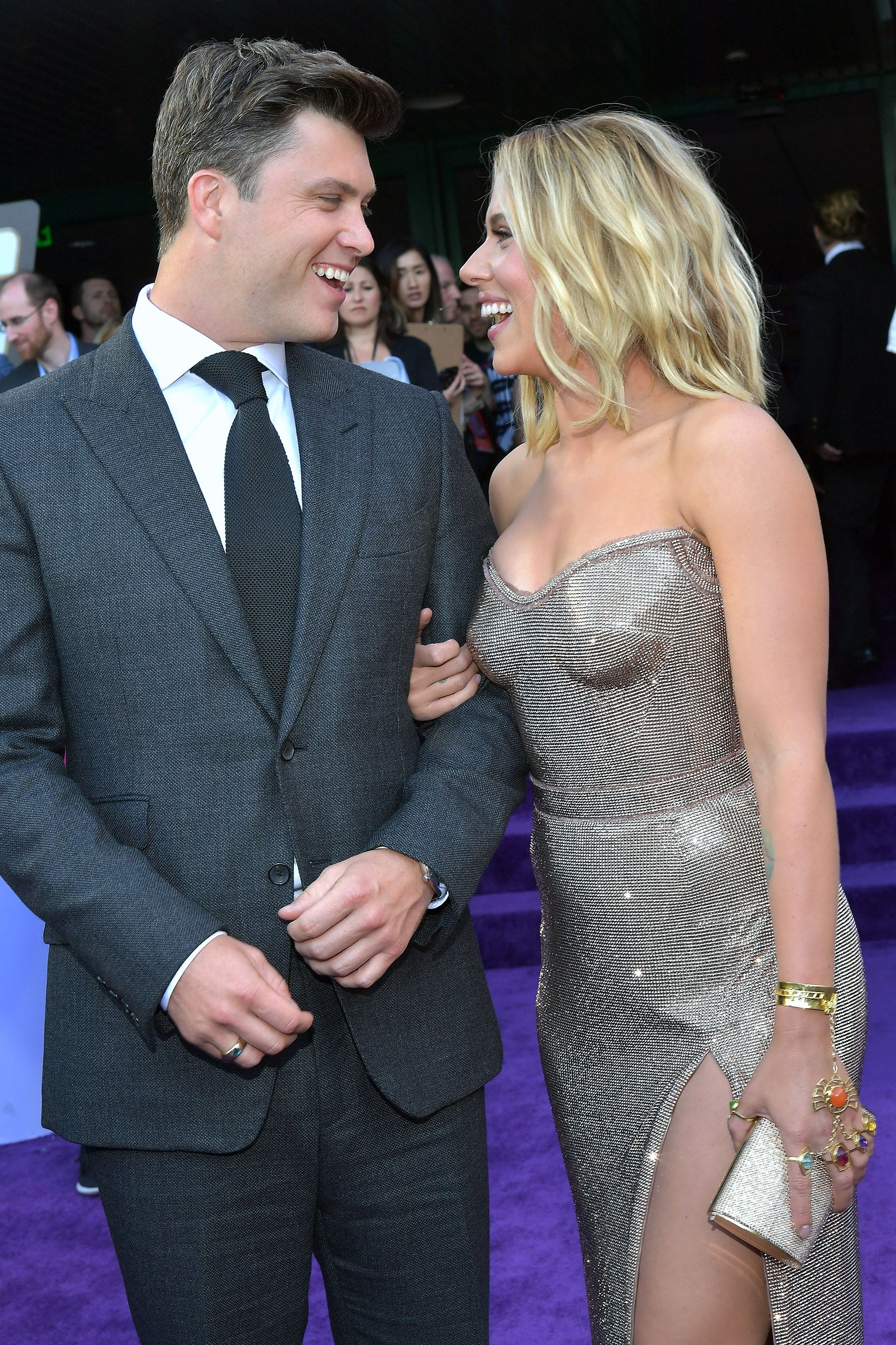 Scarlett Johansson and SNL's Colin Jost Are Engaged After