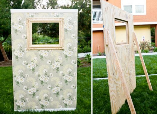 Super Le Photobooth: le coin pour photo de mariage intimiste | Photo  HZ08