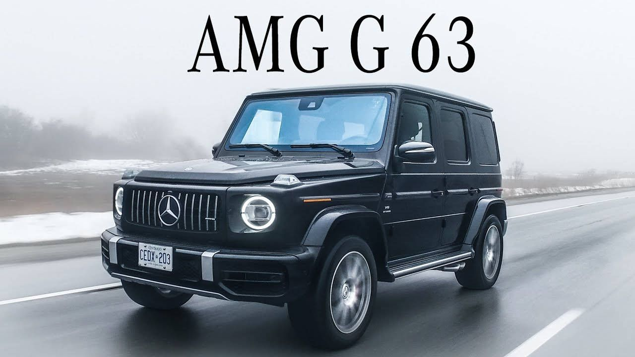 The 2020 MercedesAMG G63 Is The Fastest G Wagen in 2020