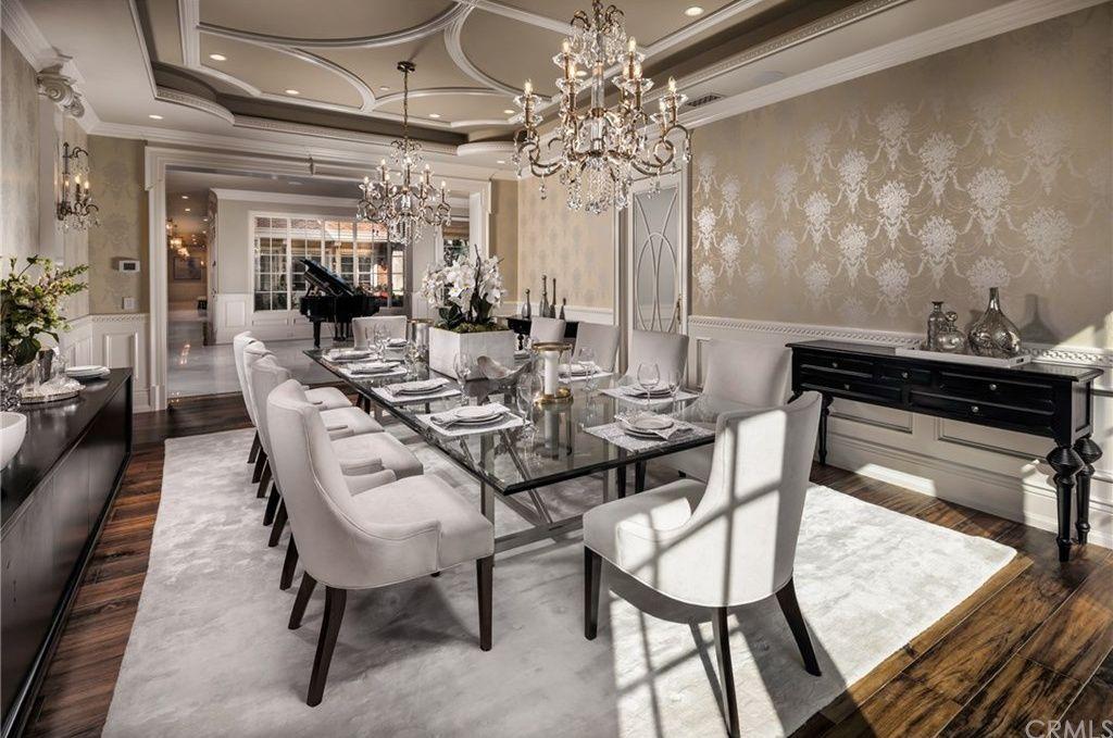 1001 Singing Wood Dr Arcadia Ca 91006 Beautiful Dining Rooms
