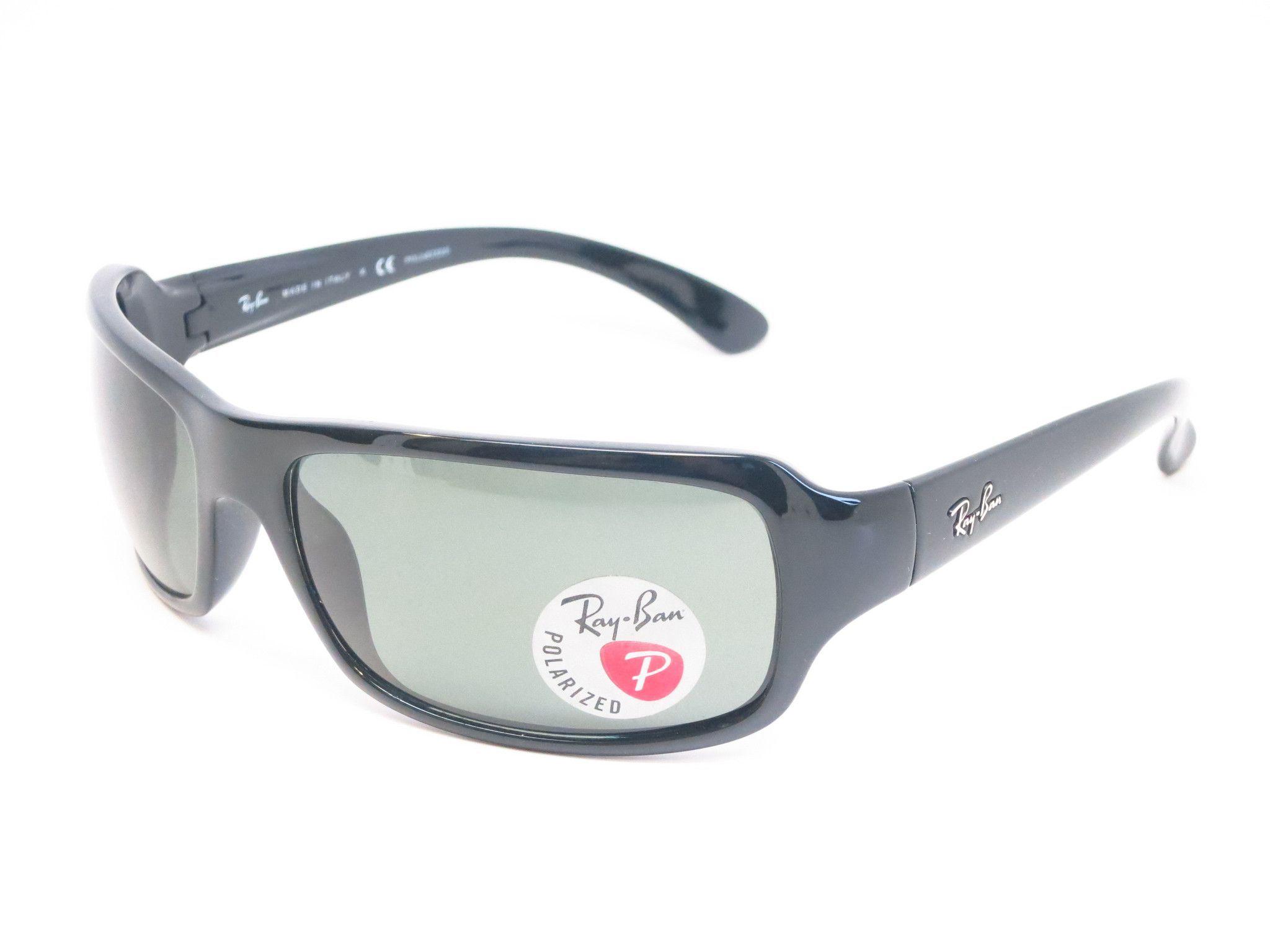e8b6a80b0f Ray-Ban RB 4075 HighStreet 601 58 Black Sunglasses - RayBan