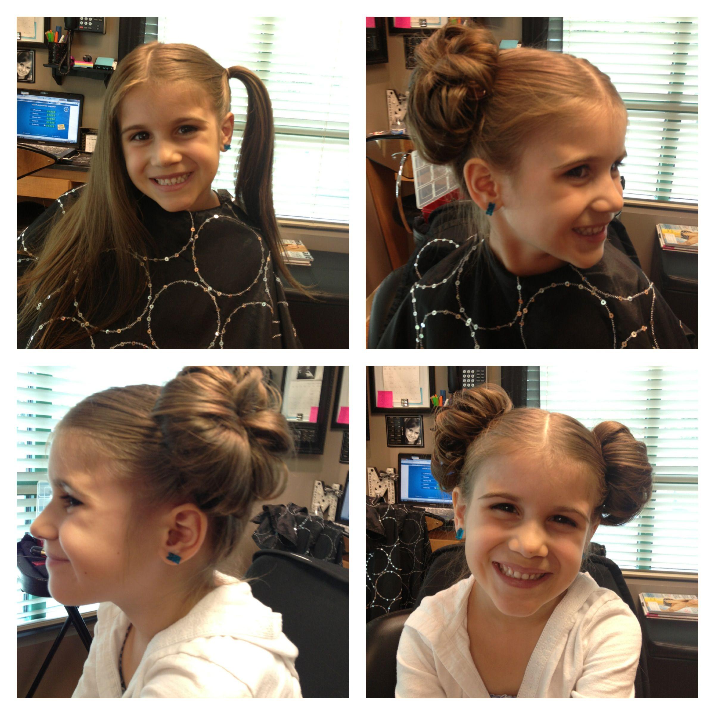 Princess Leia Hair Star Wars Hair by Melissa Lobaito