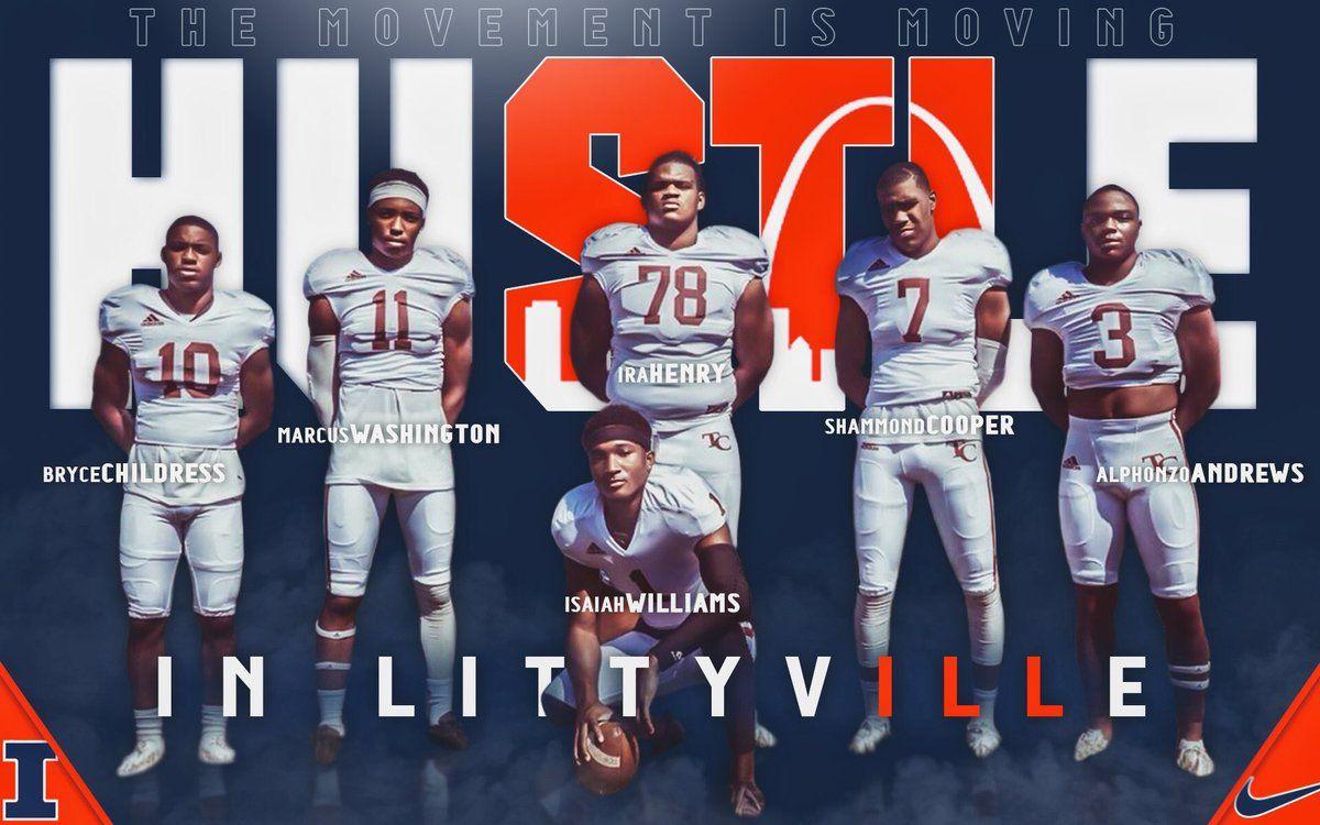Illinois football recruiting college football