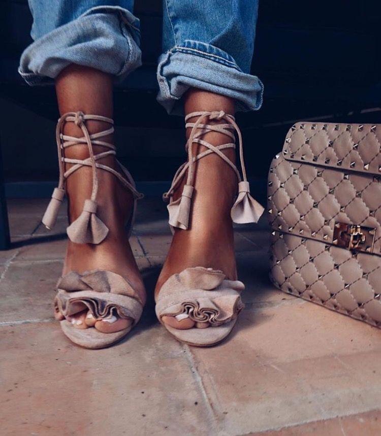 Pin By Roksana On S H O E S Heels Sandals Heels Fashion Shoes