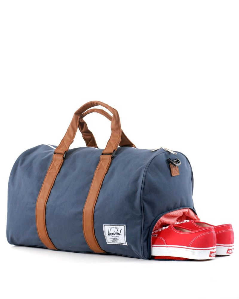 3cad1098f801 Herschel Supply Co.Novel Duffle Bag - Navy Blue - The shoe compartment is  sheer brilliance.